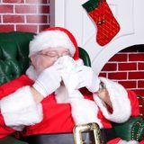Weihnachtsmann und Ehefrau erkranken an Corona