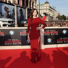 """Mission: Impossible - Rogue Nation"" Weltpremiere - Rebecca Ferguson"