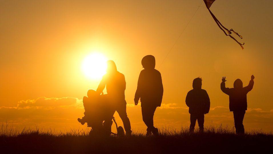 Der Anteil kinderreicher Familien - also mit drei und mehr Kindern - ist kontant.