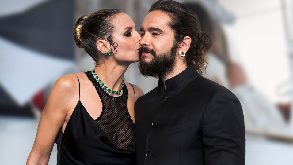 Ihr erster Kuss als Ehepaar