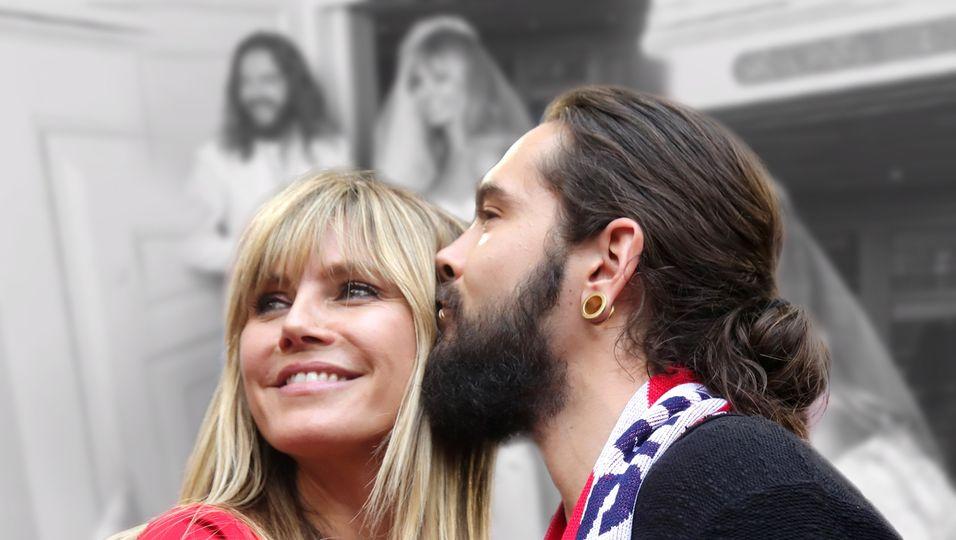 Sie teilen ein bisher ungesehenes Foto ihrer Hochzeit
