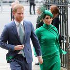 Herzogin Meghan und Prinz Harry bei einer Veranstaltung im März 2020 in London