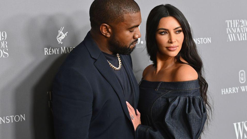 Kanye West: Hat er Kim Kardashian betrogen?