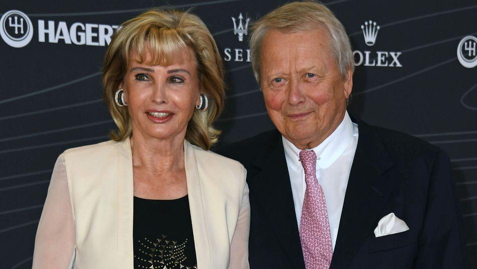 Wolfgang Porsche und Cornelia Hübner