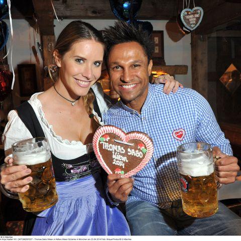 Daniel Aminati und Freundin Anja Hoebel