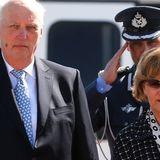 Harald und Silvia von Norwegen