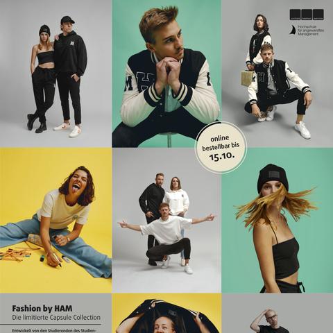 Studierende der HAM entwickeln eigene Fashion- Kollektion