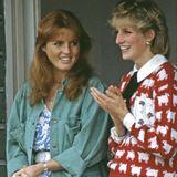 Sarah Ferguson und Prinzessin Diana