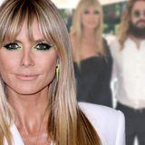 """Heidi Klum: Ihr Outfit bei Lenis Fashion-Show spaltet die Meinungen – Fan: """"Geht sie zum Pool?"""""""