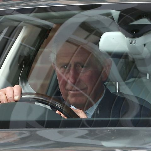 Baby-Besuch, Besucher, Kensington Palast, Herzogin Kate, Prinz Charles