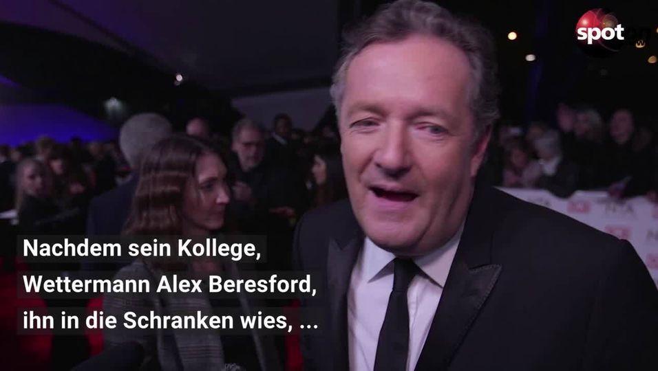 Er unterstellte Meghan Lügen: Moderator Piers Morgan verlässt Show