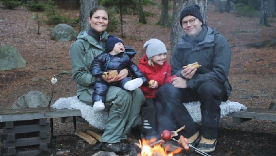 Im Wald mit Oscar und Estelle