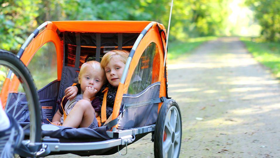 Kinder-Fahrradanhänger
