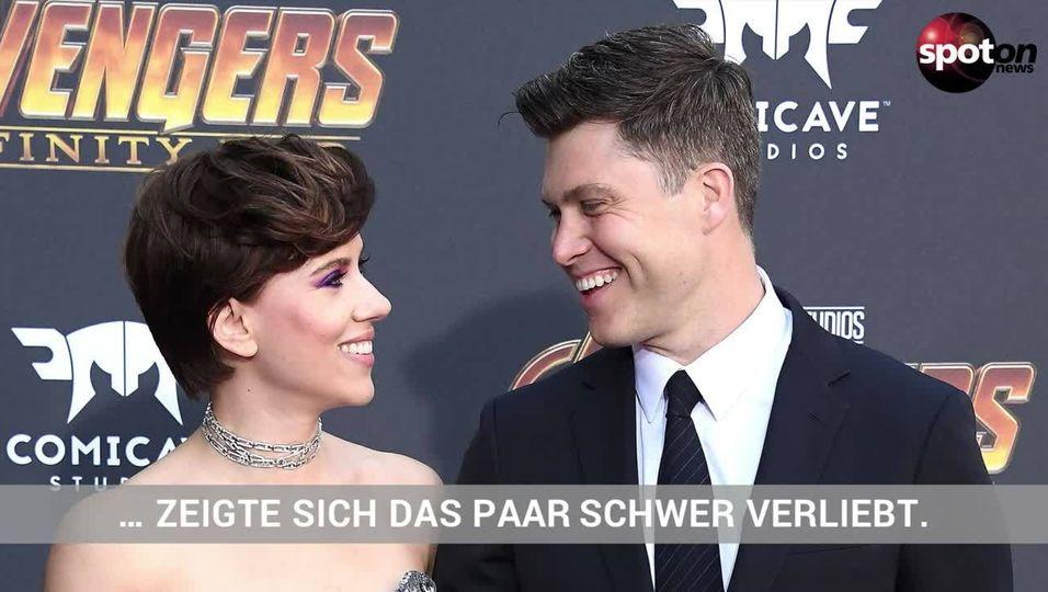 Endlich: Scarlett Johansson zeigt sich mit ihrer neuen Liebe