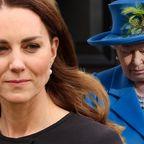 Herzogin Kate, Queen Elizabeth II.