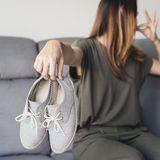 Müffelnde Schuhe
