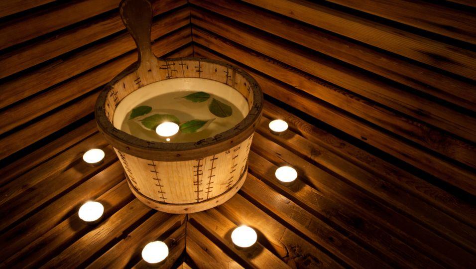 Sauna - Ein besonderes Erlebnis: Die Erdwallsauna
