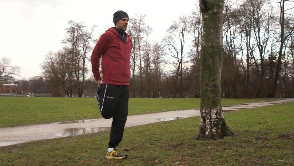 Jogging - Dehnen nach dem Training