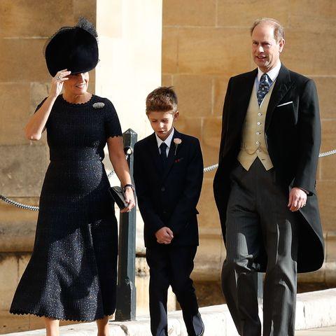 Sophie von Wessex , Prinz Edward und ihr Sohn James