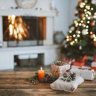 Weihnachten Baum Geschenke
