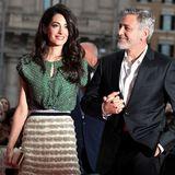 Amal und George Clooney bei einer Veranstaltung im Mai 2018 in Rom