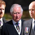 Harry, Charles und William