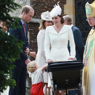 Catherine, Prinz William, Taufe Charlotte, Prinz Georg