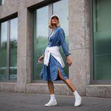 H&M und Co. liefern die schönsten Jeanskleider der Saison