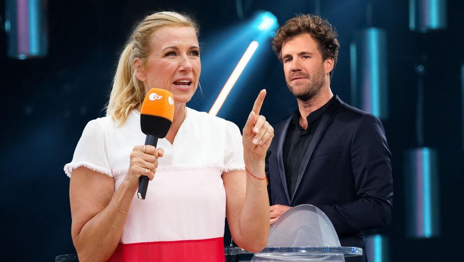 """ZDF-""""Fernsehgarten""""-Star Andrea Kiewel rechnet mit Luke Mockridge ab"""