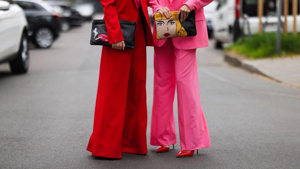 Diese elegante Hose streckt deine Silhouette
