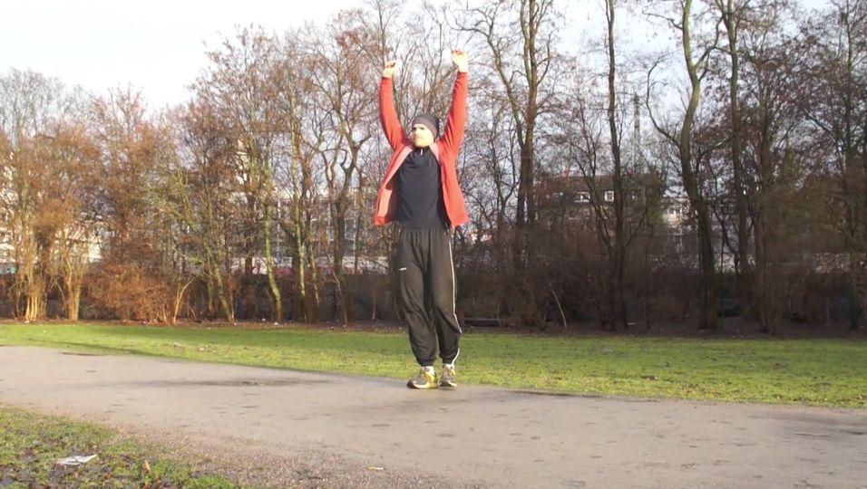 Jogging - Dehnen vor dem Training