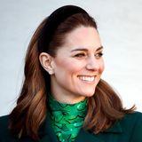 Farbexpertin verrät: Darum sehen wir Kate so oft in dieser Farbe