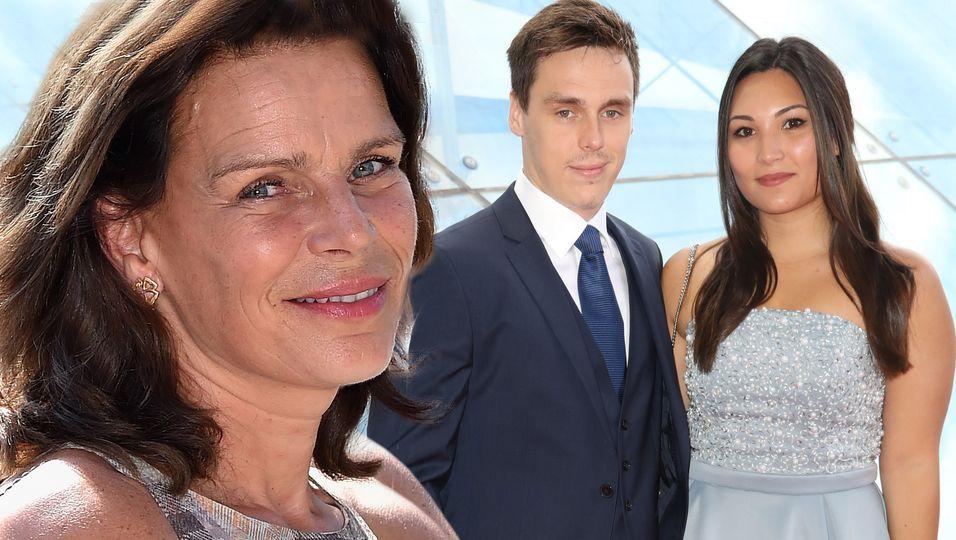 Stéphanie von Monaco, Louis Ducruet, Marie Chevallier