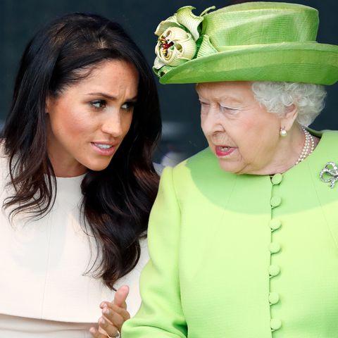 """Herzogin Meghan: Insider: """"Sie muss verstehen, dass sie der Queen dient"""""""