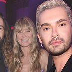 Bill Kaulitz, Tom Kaulitz, Heidi Klum