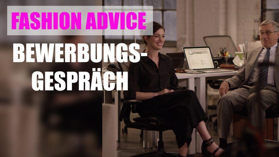 Fashion Advice - Bewerbungsgespräch