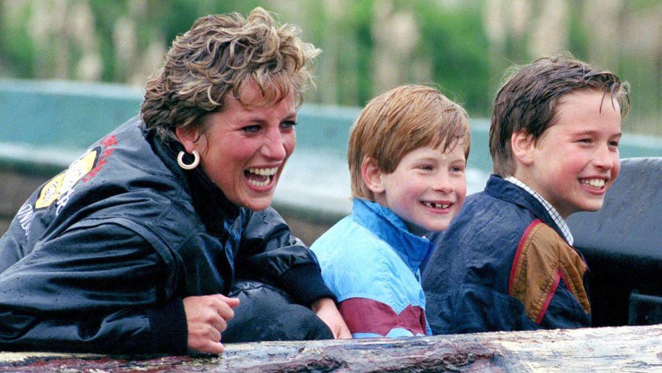 Ihre schönsten Momente mit William & Harry