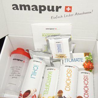 So kommt das Amapur-Paket aus der Schweiz bei mir an