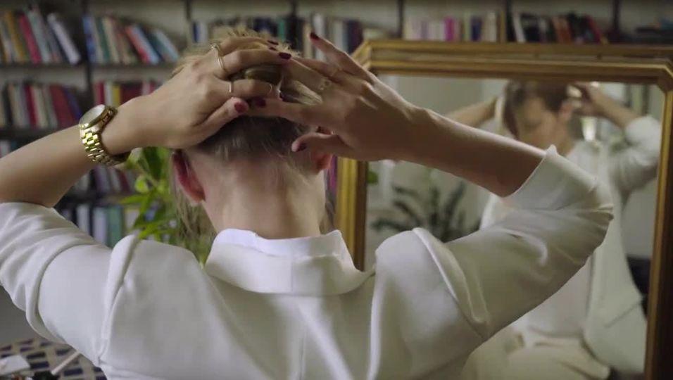 Fix gestylt: Schicke Frisur in nur einer Minute