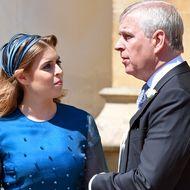 Prinz Andrew und Prinzessin Beatrice