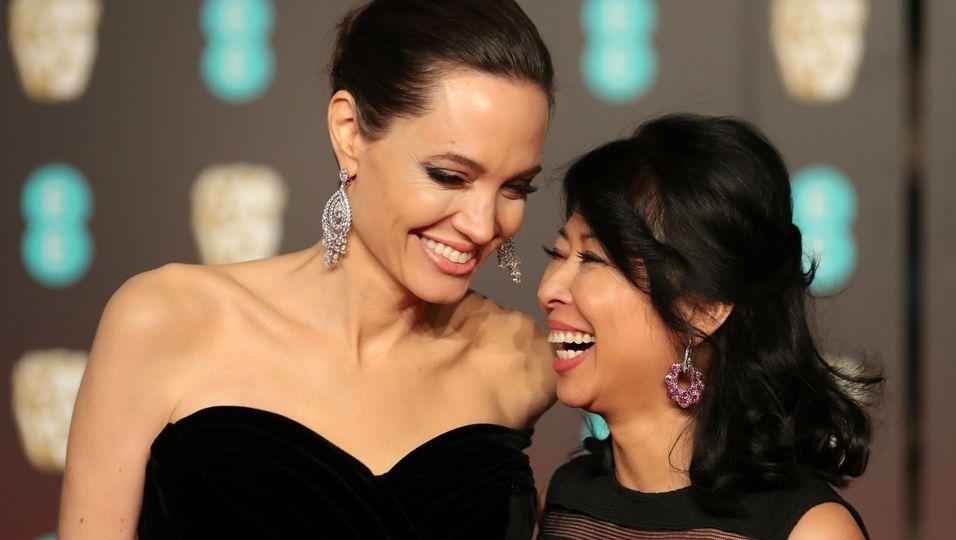 Angelina Jolie: Nach der Aniston-Trennung: Sie ist verdächtig gut gelaunt!
