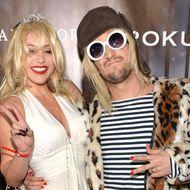 BC Jean als Courtney Love und Mark Ballas als Kurt Cobain.