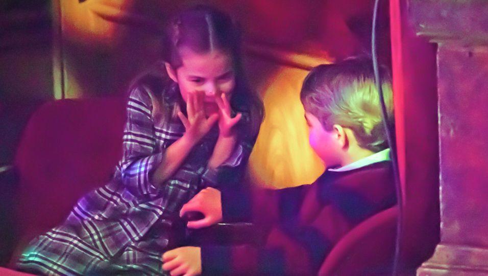 Flüsteralarm! Charlotte & George haben Geheimnisse