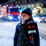Schneepflug-Fahrer rettet kleinen Jungen vor dem Kältetod