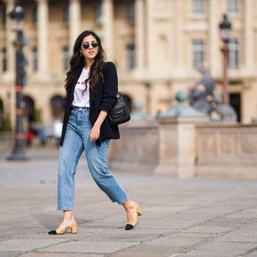 Diese Girlfriend-Jeans von Amazon ist luftig genug für den Frühling