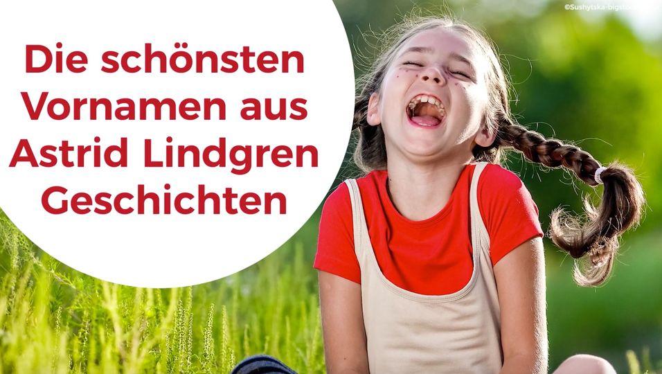 Die schönsten Vornamen aus Astrid Lindgren-Geschichten