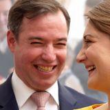 Guillaume und Stephanie von Luxemburg