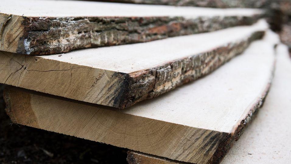 Woran erkennt man die Nachhaltigkeit dieses Holzes? AmProdukt selbst nicht. Zertifizierungssysteme wie PEFCund FSC müssen dafür die Produktionsbedingungen überwachen.