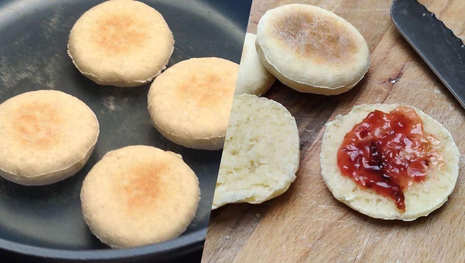 Leckeres, eigenes Brot ohne Ofen: So einfach geht Brot in der Pfanne