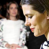 Charlotte Casiraghi - Zurückhaltendes Make-up & ernster Blick: Doch alle gucken auf ihre Schuhe
